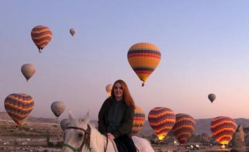 Kapadokya At Turları (Bir Saat)