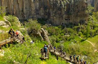 Cappadocia Green (South) Tour
