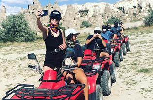 Cappadocia 2 Hours Atv Tour