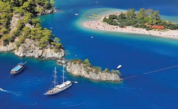 İstanbul Çıkışlı Fethiye Ölüdeniz Salda Gölü Yüzme Ve Tekne Turu 4 Gün 3 Gece Otel Konaklamalı